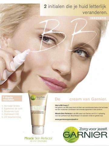 BB cream garnier yfke sturm 2013  topmodel