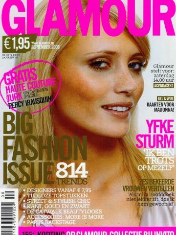 yfkesturm glamour cover top model