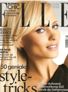 Elle cover supermodel yfke