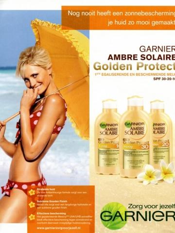 Golden protect garnier yfke sturm 2013  topmodel